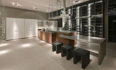 Stylish sleek kitchen