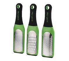 This 3pc grater set is perfect for all your grating & zesting needs