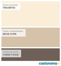 Castorama Nuancier Peinture - Mon harmonie Peinture  TRAVERTIN satin de COLOURS Classic
