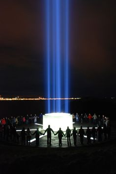 Imagine Peace Tower, will next be lit on October 9th, what would have been John's 73rd birthday! Check out Yoko's beautiful link. IMAGINE! http://imaginepeacetower.com/