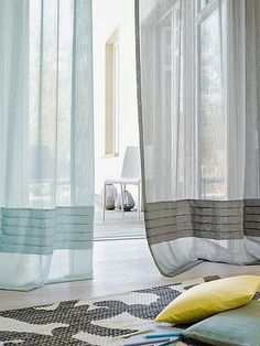 Elegant and semi-transparent, PABLO embodies the lightness of being and decorating. It has a captivating, soft flowing drape and a very natural-looking, raised linen feel