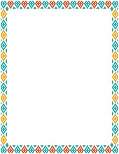 Free Diamond Border Templates Including Printable Border Paper And Clip Art  Versions. File Formats Include GIF, JPG, PDF, And PNG.  Free Paper Templates With Borders