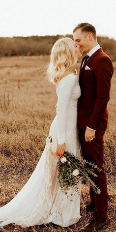 Ivory Long Sleeve Rustic Wedding Dresses Backless Sheath Beach Wedding Dress – The Best Ideas Country Wedding Dresses, Best Wedding Dresses, Wedding Styles, Wedding Gowns, Wedding Events, Backless Wedding, Modest Wedding, Pink Bridesmaid Dresses, Long Sleeve Wedding