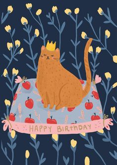 Roger la Borde Porcelain Horse Petite Card featuring artwork by Holly Jolley Happy Birthday Art, Cat Birthday, Happy Birthday Images, Happy Birthday Greetings, Christmas Greetings, Birthday Quotes, Happy Birthday Illustration, Cute Illustration, Bday Cards