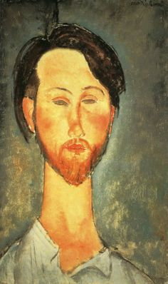 Amedeo Modigliani - Ritratto di Léopold Zborowski, 1918