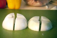 How to Cut an Onion for Shish Kabobs