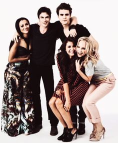 The Vampire Diaries Cast.                                  My loves ❤❤