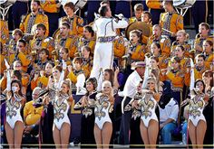 LSU Tiger Golden Girls and Band