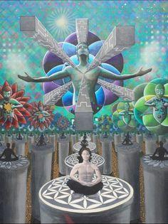 This is what you call art. Chakras, Psy Art, Call Art, Visionary Art, Psychedelic Art, Graffiti Art, Sacred Geometry, Black Art, Art Boards