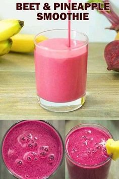 Beet Smoothie How about a Beet Smoothie, people? I know it might sound strange, but it is a true delight. This smoothie has wonderful taste, gorgeous color, and a very impressive list of health. Smoothie Detox, Juice Smoothie, Smoothie Drinks, Detox Drinks, Cleanse Detox, Papaya Smoothie, Smoothie King, Coconut Milk Smoothie, Carrot Smoothie