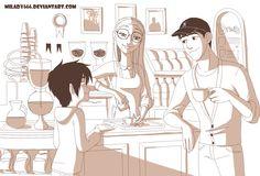 Morning espresso by Milady666.deviantart.com on @deviantART