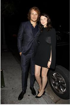 Sam retweeted this pic of him and Cait at HFPA And InStyle Celebrate The 2015 Golden Globe Award Season! :)
