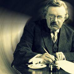 G.K. Chesterton. How to start having Chesterton meetings.