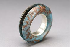 Hollow Form Ring (Jason Stein) Tags: jewelry ring copper metalsmithing dieforming