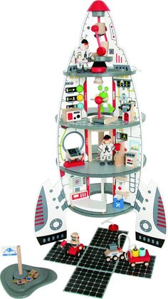 Amazon.com: Hape Discovery Space Center: Toys & Games