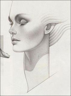 Coilhouse » Blog Archive » Deco Future: The Seductive Draftsmanship of George Stavrinos