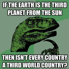 if the earth is the third planet from the sun