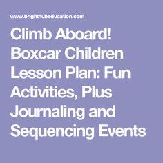 Climb Aboard! Boxcar