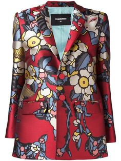 DSQUARED2 'Blossom' blazer. #dsquared2 #cloth #blazer