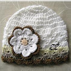 Jarní/podzimní čepička - hnědé odstíny Crochet Hats, Beanie, Fashion, Beanies, Knitting Hats, Moda, La Mode, Fasion, Fashion Models