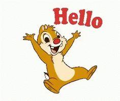 Chipmunk Hello GIF - Chipmunk Hello Happy - Discover & Share GIFs