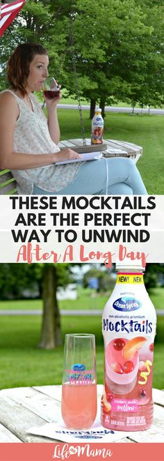 @OceanSpray Mocktails are perfect for pregnant mamas or if you just need to take a mid-day break from the kids! #ad #sponsored