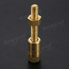 Nut Off Bolt Screw Close-Up Magic Trick Micro Psychic Rotating - US$4.12