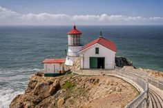 Gorgeous, lonely, stunning... You have to see these California lighthouse pictures: Point Reyes Lighthouse