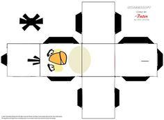 Caixinhas de Angry birds Anime Crafts, 3d Paper Crafts, Paper Crafts For Kids, Paper Toys, Diy Paper, Diy For Kids, Cumpleaños Angry Birds, Festa Angry Birds, Cute Dog Drawing