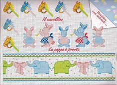 Punto Croce Disegni da Scaricare   punto croce bimbi cavalli conigli elefanti - magiedifilo.it punto ...