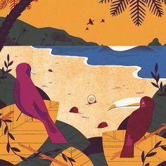 Tropical Calendar | David Doran Illustration