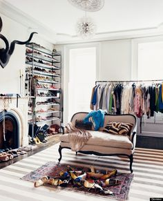 Clothes don't always need a closet