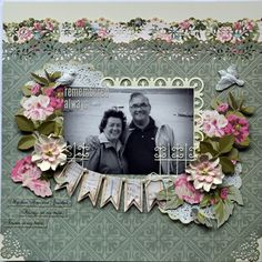 Scrapbook Layout using @Anna Totten Totten Totten Griffin, Inc. Scrapbook.com: Camilla Collection