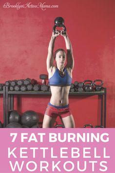 7 Fat Burning Kettlebell Workouts