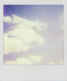Blue Skies. Made with the Polamatic app for iPhone!