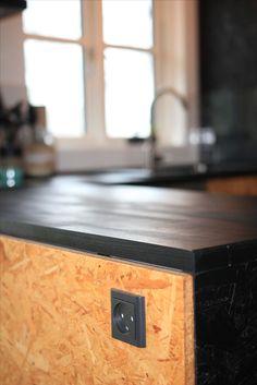 OSB kitchen in my summerhouse in Denmark