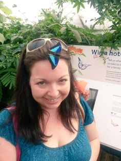 "@funnyhoney32 - ""@NHM_London The butterfly exhibition is awesome! #sensationalbutterflies"""