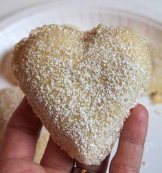 Mammas vanilla hearts - Jenny's food blog