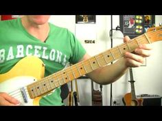 ▶ Back In Black - ACDC ★ How To Play - Electric Guitar Riff Lessons - Rock Guitar Tutorial - YouTube
