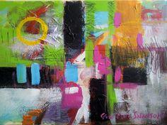 "Saatchi Art Artist: Yves-Marie Salanson; Acrylic 2012 Painting ""The Closed Circle"""