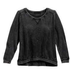 b7df4335a1e Harley-Davidson® Women s Loose-Weave Washed Sweater House Of Harley
