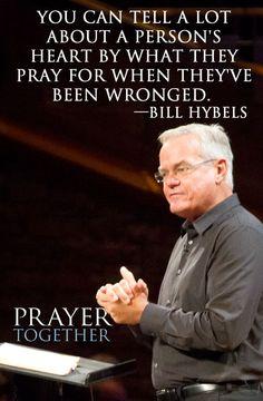#PrayerTogether #WillowCreek Bill Hybels
