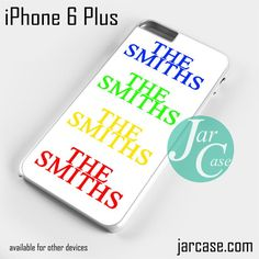 The Smiths Logos Phone case for iPhone 6 Plus and other iPhone devices