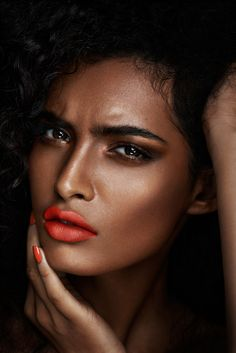 Beauty Power Poutin On Pinterest Iman Cosmetics