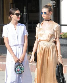 Pin for Later: Behati Prinsloo and Her Blossoming Belly Enjoy a Day of Shopping With Pal Lily Aldridge