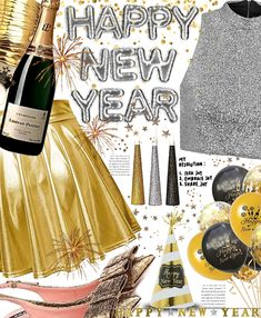 HAPPY NEW YEARS Outfit | ShopLook New Years Outfit, New Years Eve Outfits, Nye Outfits, Outfit Maker, Happy New Year, Holidays, Salt, Holidays Events, Holiday