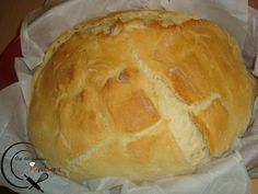 Ψωμί στη γάστρα! (συνταγή της Χριστίνας) Bread, Food, Essen, Breads, Baking, Buns, Yemek, Meals
