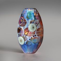 Focal bead by Manuela Wutschke