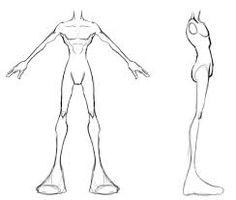 Resultado de imagem para chibi anatomy model sheet