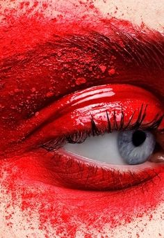 """THE DOCTOR SAID I HAD THE INFECTION: """"PINK EYE""""………BUT, THIS IS RIDICULOUS….IT'S MORE LIKE THE """"RED EYE"""" BLIGHT"""